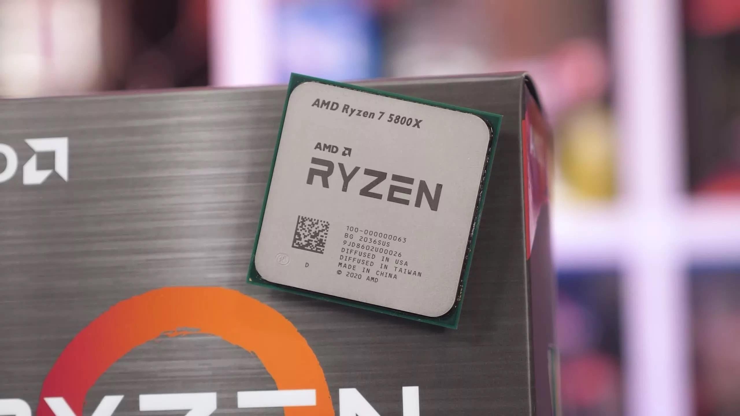 AMD Ryzen 7 5800X: miglior processore di fascia media