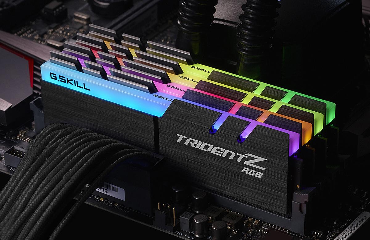 G.Skill Trident Z RGB: miglior RAM per un PC gaming