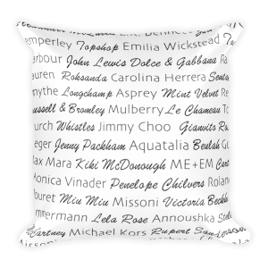 Kate's Favourite Brands Pillow