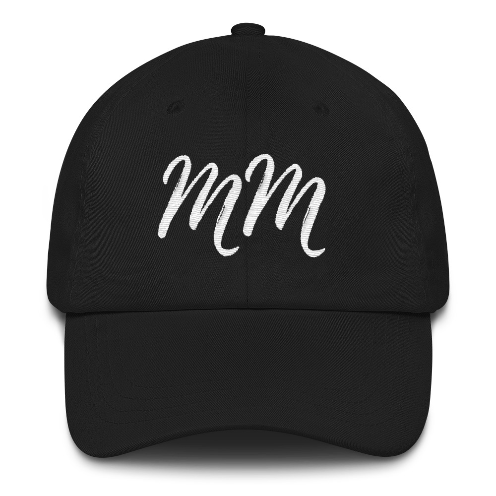 Meghan's Mirror Exclusive Collection – The Meghan's Mirror 'MM' Embroidered Logo Hat