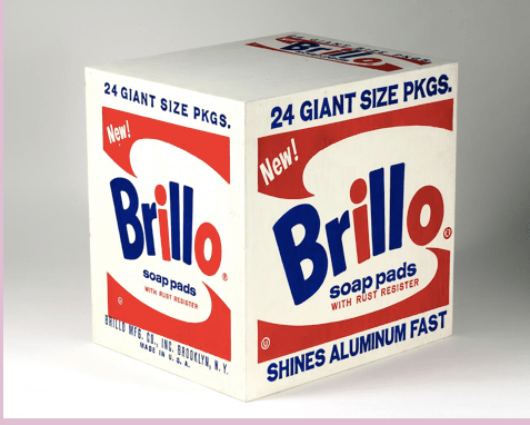 Andy Warhol - Brillo Boxes (1964)