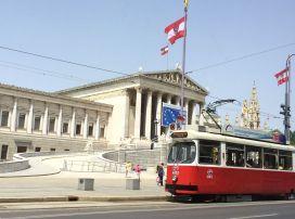 Old Vienna tram