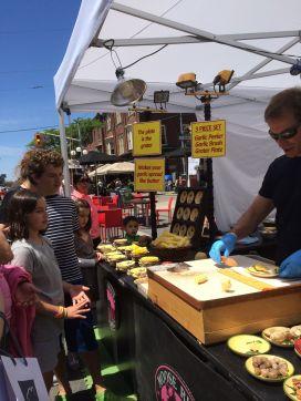 Taste of Little Italy - food demo