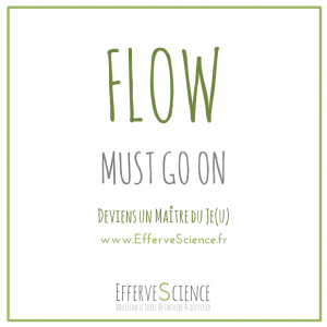 Flow must go on : deviens un Maître du Je(u)