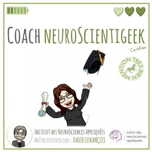 Sandra Boré, Coach NeuroScientigeek certifiée en Neurosciences Appliquées