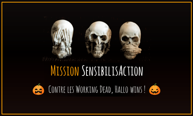 Contre les Working Dead, Hallo Wins!