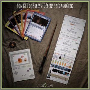 Ton kit de stress-défense pédagogeek en donAction libre