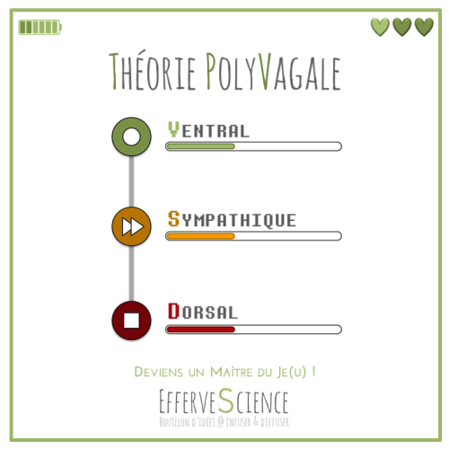 Théorie PolyVagale, tu es ton Maître du Je(u), choisis ton mode et réécris l'histoire !