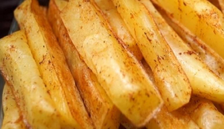 apéritifs, pommes de terre, patates, frites santé