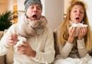 le rhume et la grippe, comment traiter la grippe, symptômes de la grippe
