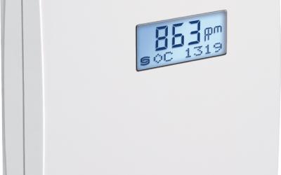 Sistemas de ventilación y calidad ambiental con sensores de CO2