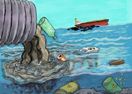 Polluted Water on Human Health
