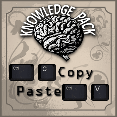 Copy Paste Knowledge Pack