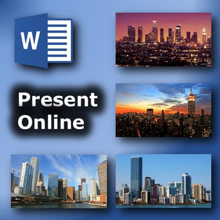 Word - Present Online