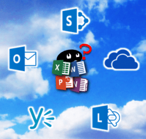 Communication options- Mail, Lync, OneDrive, Team Site, Yammer!