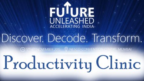 future unleashed - productivity clinic