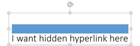 Hidden Hyperlinks