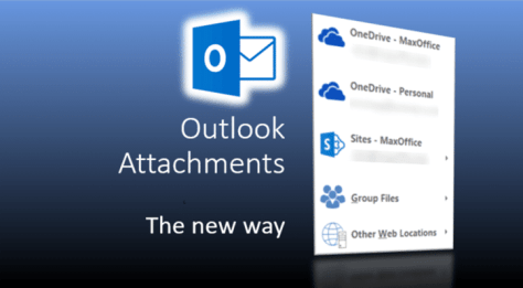 Outlook Attachments - Poster