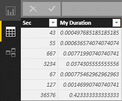 Duration as decimal in Power BI Desktop