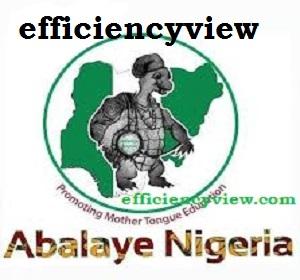 Àbáláyé Yorùbá Nigeria Quiz Competition 2020/2021 Form