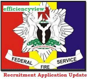 Federal Fire Service (NSCDC) Recruitment Application Form Update 2020/2021