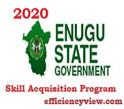 Enugu State Skill Acquisition Program for Graduates/Non Graduates
