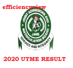 How to check 2020 JAMB UTME Examination Result with Registration Number via Desktop/Laptop