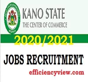 2020/2020 Kano State Civil Service Commission Jobs Recruitment