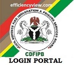 NSCDC Applicant Register Login Portal