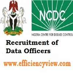 NCDC Recruitment of Data Officers in Lagos and Abuja 2020