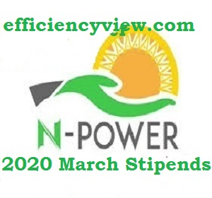 Good News for all Beneficiaries about 2020 Npower March Stipends