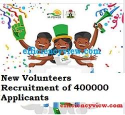 Npower new Volunteers Recruitment of 400000 Applicants in 2020/2021