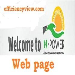 Npower Volunteer Profile login portal