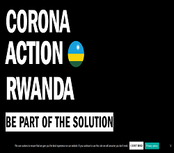 Corona Action Rwanda Grant COVID 19 Initiatives Application Form