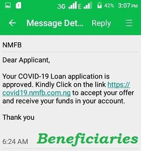 CBN COVID-19 Loan List of Successful Beneficiaries 2020