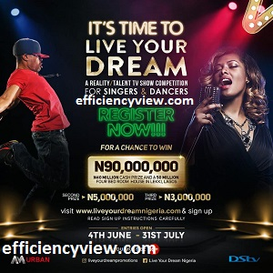 Live Your Dream Tv Show 2020 Application Form