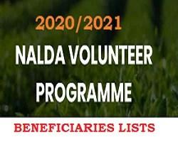 NALDA Volunteer List of Shortlisted Candidates 2020/2021 for Interview /Screening Test