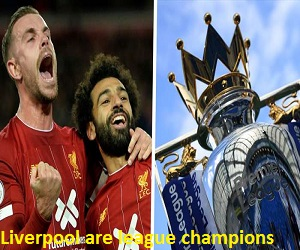 Liverpool FC will today 22nd of July 2020 lift 2019/2020 Premier League Trophy