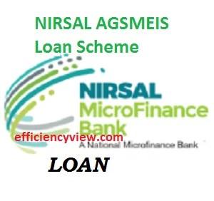 NIRSAL AGSMEIS Loan Scheme 2020-2023