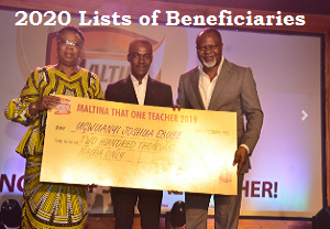 Maltina Teachers of the Year Award 2020 List of Shortlisted Candidates