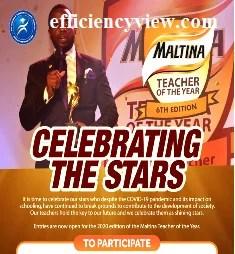 Maltina Teachers of the Year Award 2020 Registration