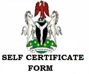 How to register/fill and submit Self- Certificate Forms in Nigeria Banks