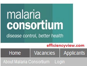Malaria Consortium Recruitment Application Form Link Portal 2020/2021: see how to create account