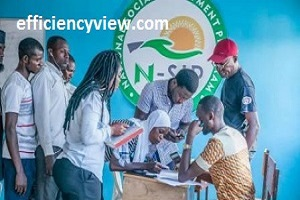 How to fill Npower Volunteers Transition Data Update Form 2020 for batch A-B