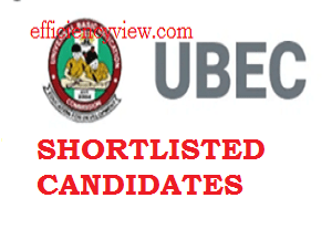 UBEC Federal Teachers Scheme FTS List of Shortlisted Candidates 2020/2021 check here
