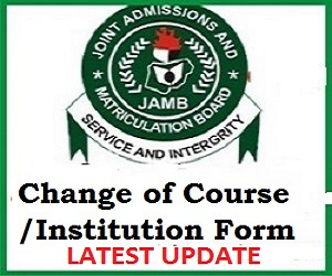 JAMB UTME Change of Course/Institution Reversal – see how to get your OTP here