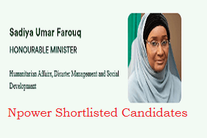 Npower Batch C Shortlisted Candidates 2020 - npower.fmhds.gov.ng