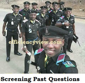 Nigeria Police Force PSC Recruitment Exam Past Questions and Answers 2020/2021 download in pdf file