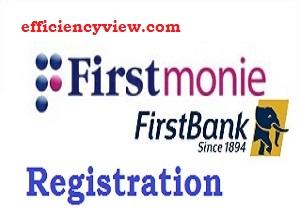 FirstMonie Registration Form: How to register/login to open account & deposit