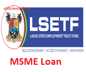 Lagos State MSME Loan Application Registration Form 2020/2021 out apply